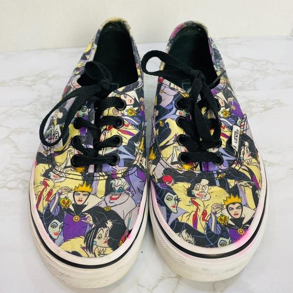Vans Shoes   Disney Villains Sneakers